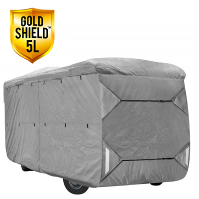 Gold Shield 5L - RV Cover for Class A RV 40' To 42' Feet Long