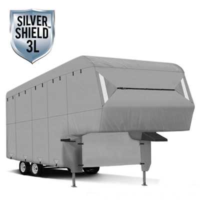 Silver Shield 3L - RV Cover for Fifth Wheel Trailer 29' To 33' Feet Long