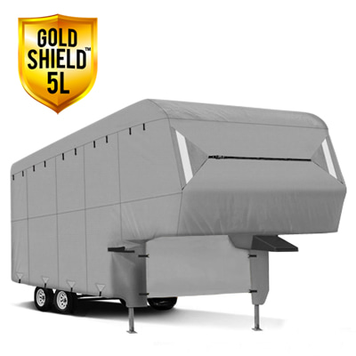 Gold Shield 5L - RV Cover for Fifth Wheel Trailer 29' To 33' Feet Long