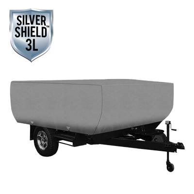 Silver Shield 3L - RV Cover for Folding Pop-Up Camper 18' To 20' Feet Long