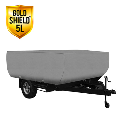 Gold Shield 5L - RV Cover for Folding Pop-Up Camper 18' To 20' Feet Long
