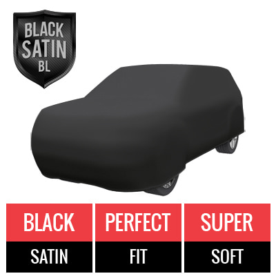 Black Satin BL - Black Car Cover for Kia Sportage 2011 SUV 4-Door