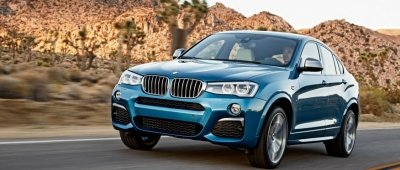 BMW X4 2016: German Engineering Coupled with Modern Esthetics