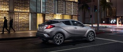 My explorations at the Car Show: Toyota C-HR
