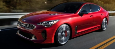 The New Luxurious Sedan: Kia Stinger