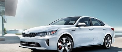 We Are Uncovering The Kia Optima Car Covers To Bring You The 2017 Kia Optima