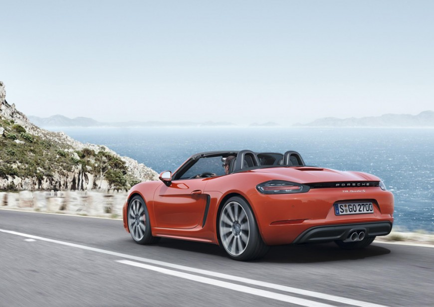 Porsche Boxster 2016: Technology Coupled with Efficiency
