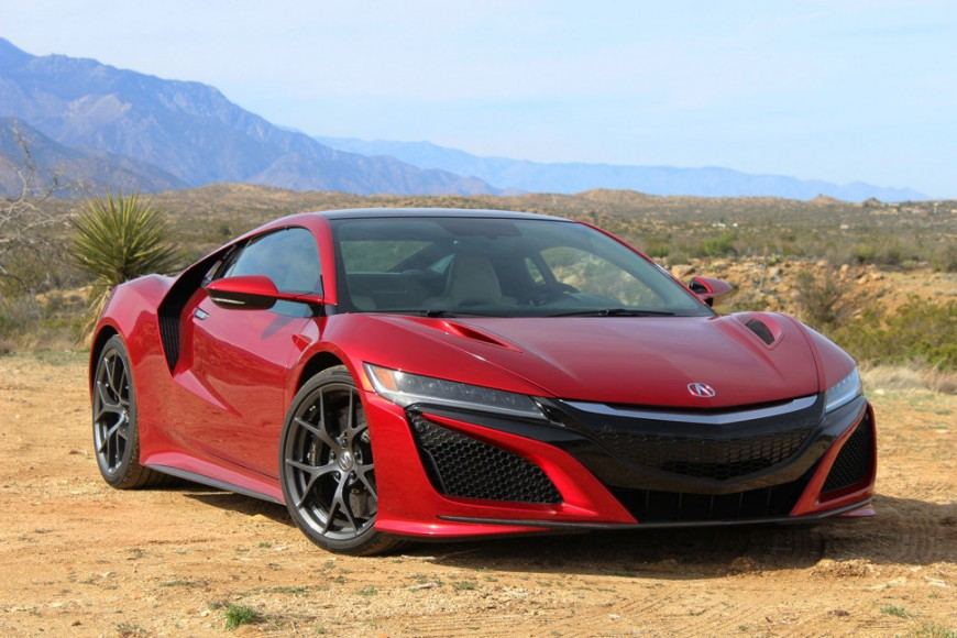 Acura NSX 2017: Mild-mannered Performance