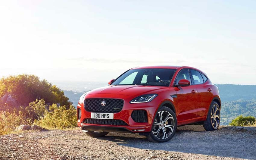 2018 Jaguar E-Pace: Upscale SUV with a Modest Tag