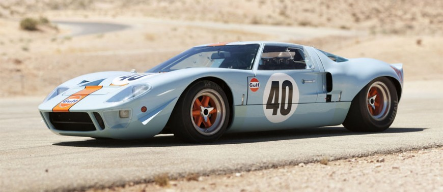 Ford GT40: Pioneer Race Car