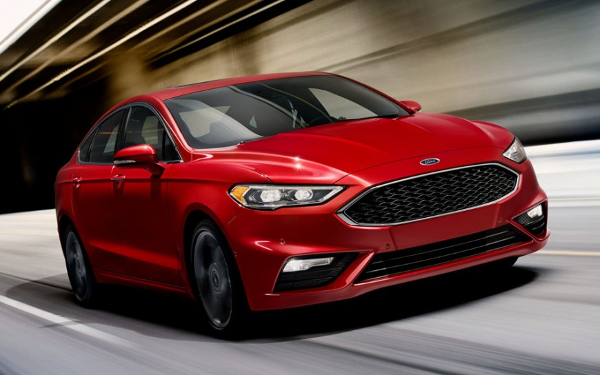 Introducing the 2017 Ford Fusion: So Efficient Now You Have to Look